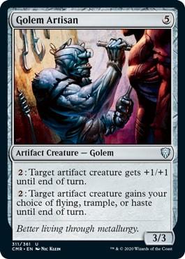 Golem Artisan Commander Legends All Cards