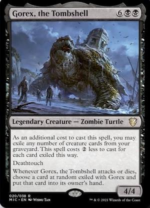 Gorex Undead Unleashed Decklist