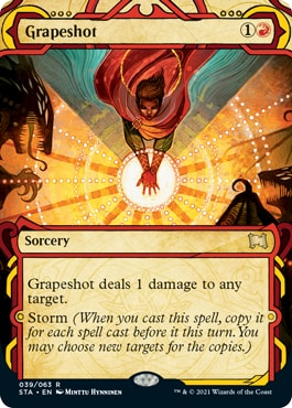 Grapeshot All Mystical Archive Cards Strixhaven