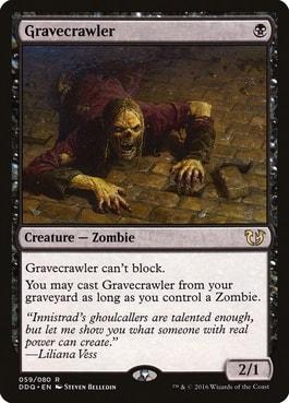 Gravecrawler MTG
