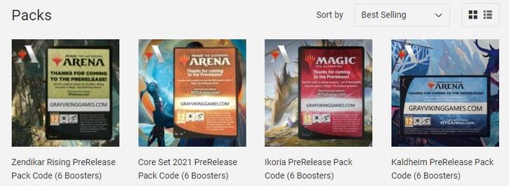 Gray Viking Games How to Get MTGA Packs