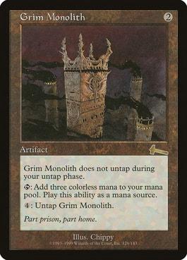 Grim Monolith Top 10 Best Mana Rocks for Commander