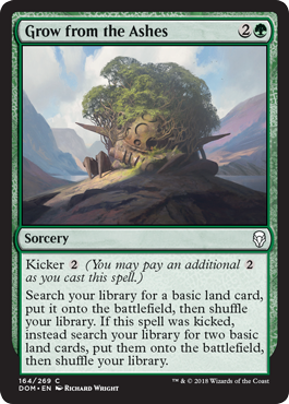 Grow from the Ashes Dominaria Draft Guide