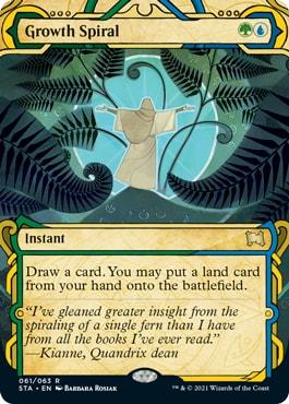 Growth Spiral Mystical Version