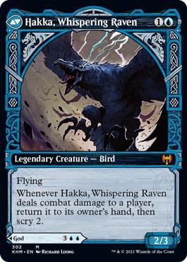 Hakka, Whispeing Raven Showcase Style