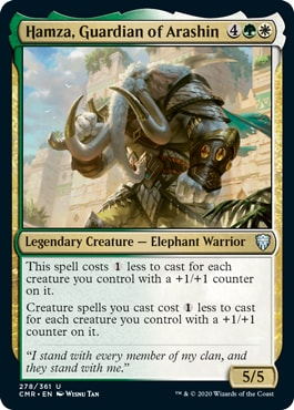 Hamza, Guardian of Arashin Commander Legends Draft Archetypes