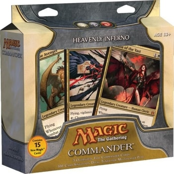 All Commander Precons List Heavenly Inferno