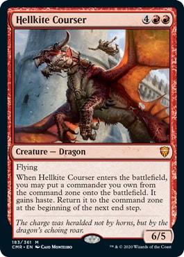 Hellkite Courser Commander Legends Spoilers
