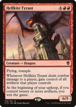 Hellkite Tyrant Best Cards for Dragon Commander Deck