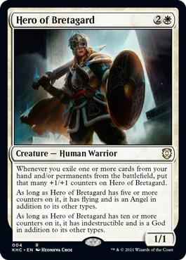 Hero of Bretagard Phantom Premonition Exclusive Cards