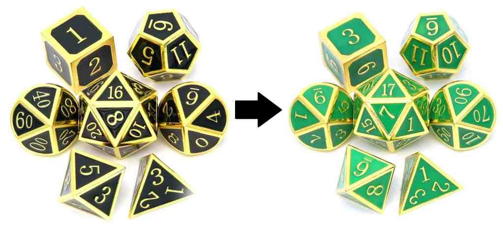 Hexatec Color Changing Dice