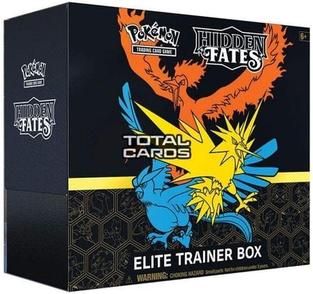 Hidden Fates Best Pokemon Cards Elite Trainer Box