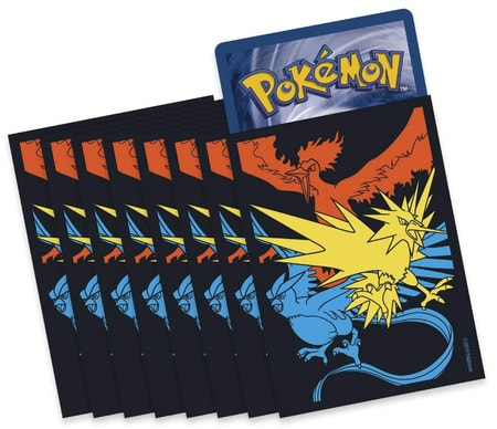 Hidden Fates Sleeves from Elite Trainer Box Pokemon Cards