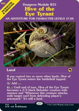 Hive of the Eye Tyrant DND MTG Land