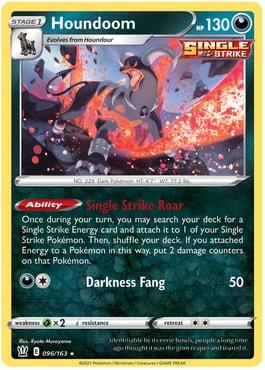 Houndoom Top 10 Best Cards Battle Styles
