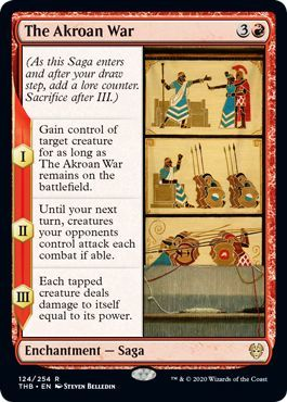 How Does MTG Saga Work The Akroan War