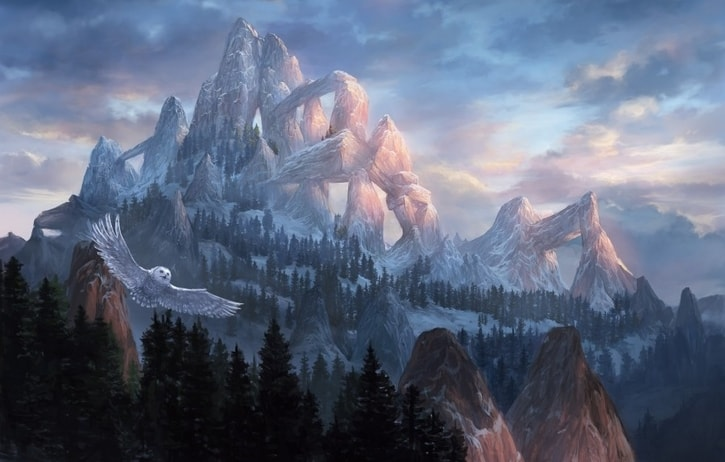 How to Build Mono Red Commander Deck Snow Covered Mountain