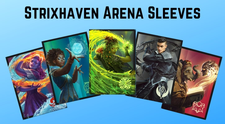 How to Get Strixhaven Arena Sleeves Free MTGA
