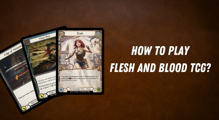 How to Play Flesh and Blood TCG Banner