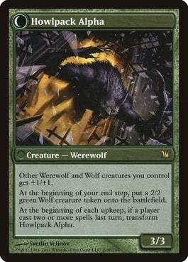 Howlpack Alpha Best Tribal Werewolf Cards