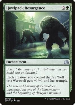 Howlpack Resurgence Best Werewolf Tribal Cards MTG