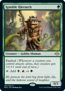 Ignoble Hierarch Best Modern Horizons 2 Cards for Modern