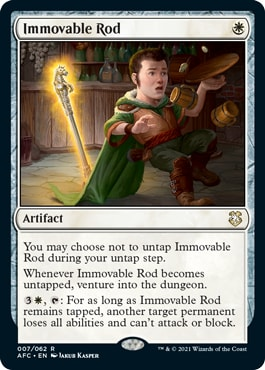 Immovable Rod Forgotten Realms Commander Decklists