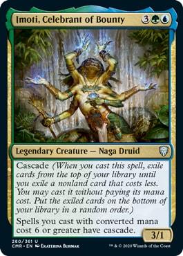 Imoti Celebrant of Bounty Commander Legends All Cards