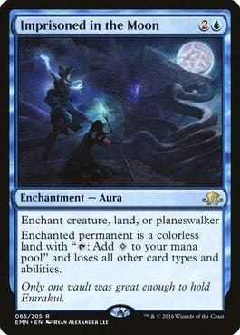 Imprisoned in The Moon EDH