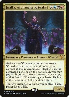 Inalla, Archmage Ritualist MTG Wizard Commanders Best Wizards