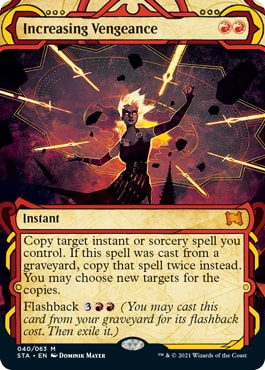 Increasing Vengeance All Mystical Archive Cards Strixhaven