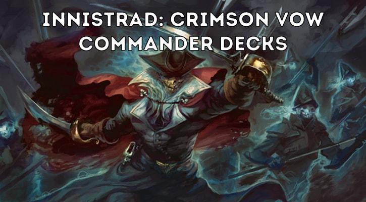 Innistrad Crimson Vow Commander Decks Decklists Spoilers Banner