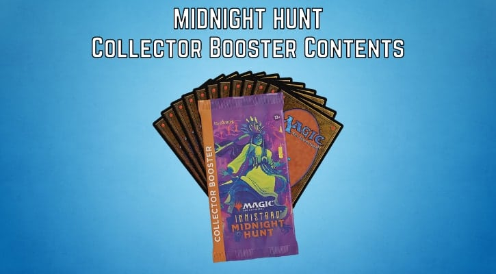 Innistrad Midnight Hunt Collector Booster Contents Banner