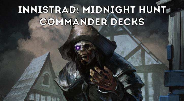 Innistrad Midnight Hunt Commander Decks Decklists Spoilers Banner