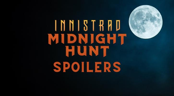 Innistrad Midnight Hunt Spoilers Banner