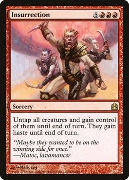 Insurrestion How to Build Mono Red Commander
