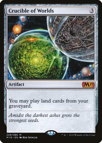 Is White Bad in Commander Crucible of Worlds