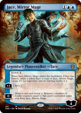 Jace Mirror Mage Zendikar Rising Collector Booster Contents
