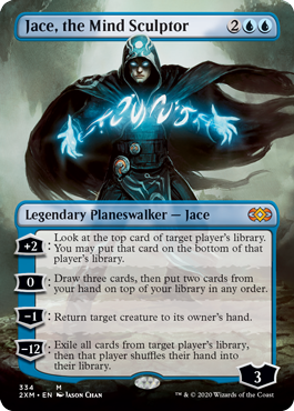Jace, the Mind Sculptor Double Masters Box Topper