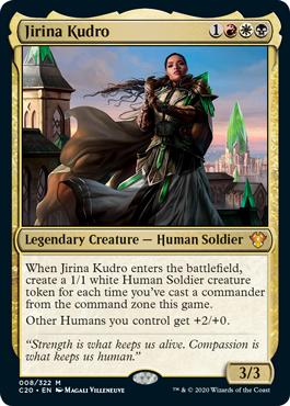 Jirina Kudro Commander 2020 Ikoria