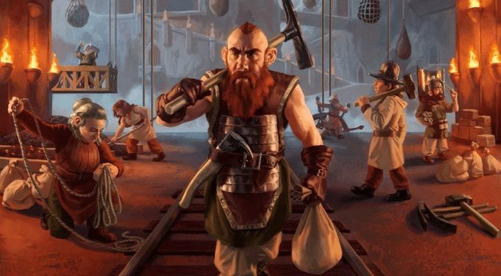 Kaldheim Dwarf Tribal Magda Brazen Outlaw Dragons