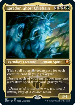 Karador Ghost Chieftain