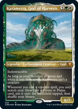 Karametra God of Harvest Commander Legends Reprints