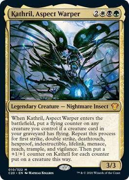 Kathril-Aspect-Warper-Commander-2020-Ikoria Symbiotic Swarm Upgrade