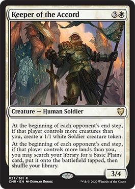 Keeper of the Accord Commander Legends Spoilers