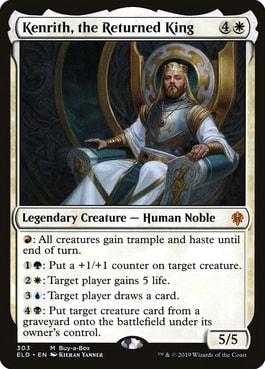 Kenrith, the Returned King Best Human Commanders