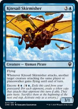 Kiresail Skrimisher Commander Legends Cards