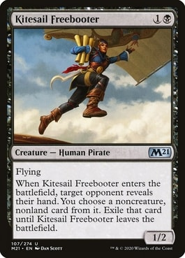 Kitesail Freebooter Best MTG Human Cards