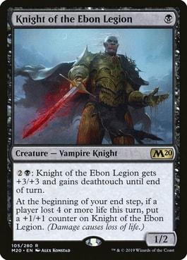Knight of the Ebon Legion Best MTG Vampires