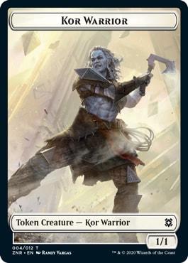 Kor Warrior Zendikar Rising Tokens